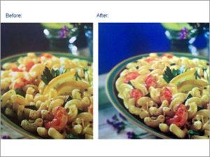 Photo retouching, color correcting